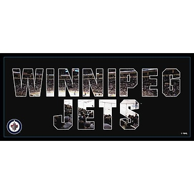 Artissimo Designs Jets Team Pride Gallery-Wrapped Canvas, 12