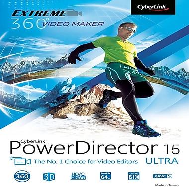 CyberLink – PowerDirector 15 Ultra [Téléchargement]
