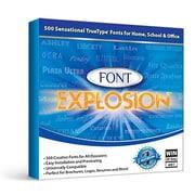 Font Explosion 1000 [Téléchargement]