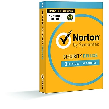 Norton - Security Deluxe, 3 dispositifs avec Norton Utilities [téléchargement]
