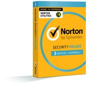 Norton Security Deluxe Plus Norton Utilities, Up to 3 Devices Plus 3 PCs