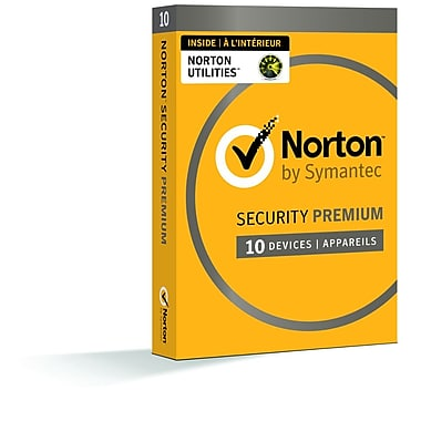 Norton Security Premium avec Norton Utilities, jusqu'à 10 dispositifs