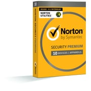 Norton Security Premium, Up to 10 Devices Plus Norton Utilities