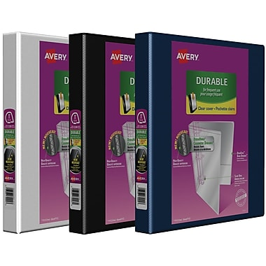 Reliures de présentation Easy-Turn robustes de Avery, 1 po