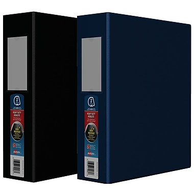 Avery® Heavy-Duty One-Touch D-Ring Binders, 3