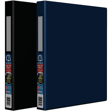 Avery® Heavy-Duty One-Touch D-Ring Binders, 1½