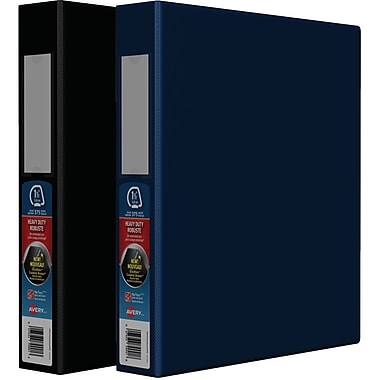 Avery® Heavy-Duty One-Touch D-Ring View Binders, 1½