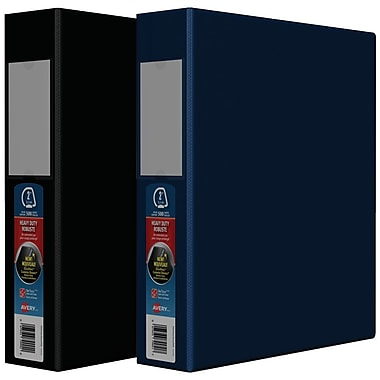 Avery® Heavy-Duty One-Touch D-Ring Binders, 2