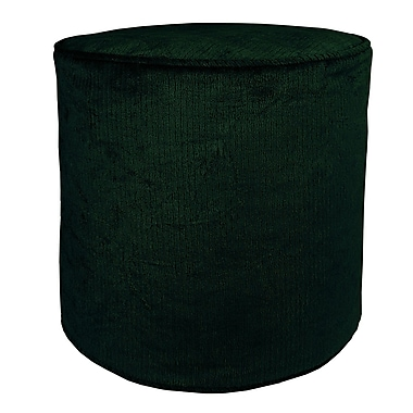 R&MIndustries Double Trouble Poof Ottoman; Hunter