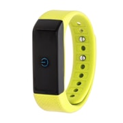 RBX Waterproof Activity Tracker with Notification Previews and Wrist Sense Technology, Yellow