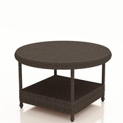 Forever Patio Catalina Chat Table; Sable