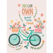 Oopsy Daisy You Can Own Your Own Road Wall Mural; 35'' H x 28'' W x 0.02'' D