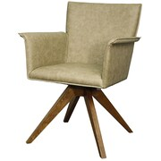 New Pacific Direct Addison Armchair; Antique Tan by