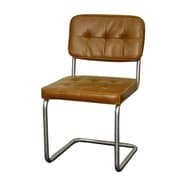 New Pacific Direct Bauer Side Chair (Set of 2); Caramel by