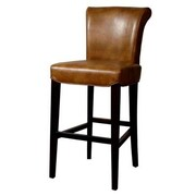 New Pacific Direct Bentley 30 inch Bar Stool w/ Cushion; Molasses by
