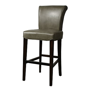 New Pacific Direct Bentley 30'' Bar Stool w/ Cushion; Quarry