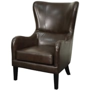 New Pacific Direct Glendale Bonded Leather Wing back chair