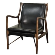 New Pacific Direct Hardy Bonded Leather Armchair