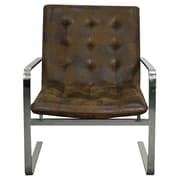 New Pacific Direct Gwenith Fabric Lounge Chair