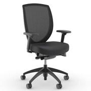 Kimball Wish Mesh Desk Chair; Dolce White