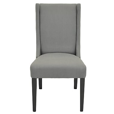 New Pacific Direct Holden Parsons Chair (Set of 2); Gun Metal