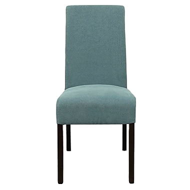 New Pacific Direct Valencia Fabric Side Chair (Set of 2); Sea