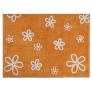 Lorena Canals Flowers Handmade Orange Area Rug