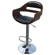 New Pacific Direct Lex Adjustable Height Bar Stool w/ Cushion