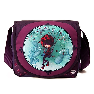 Ketto Flip-flap Lunch Bag, Ladybug on a Swing