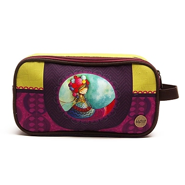 Ketto Double Pencil Case, Knitting Lady