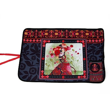 Ketto Neoprene Foldable Placemat, Catrina