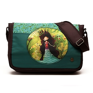 Ketto Messenger Bag, Wolf Lady