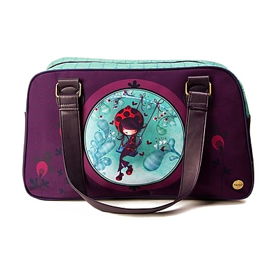 Ketto Bowler Bag, Ladybug on a Swing