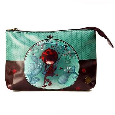 Ketto Cosmetic Bag, Ladybug on a Swing