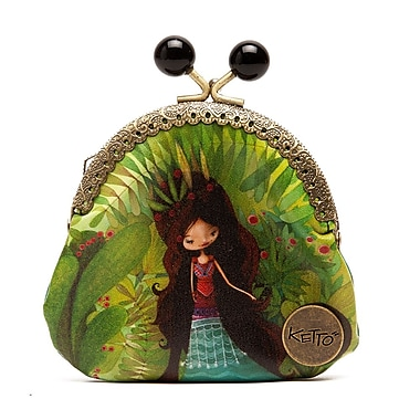 Ketto Coin Purse, Wolf Lady