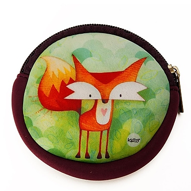 Ketto Neoprene Coin Purse, Fox