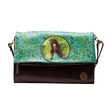 Ketto Tiny Handy Purse, Wolf Lady