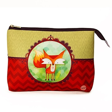 Ketto Neoprene Cosmetic Bag, Fox