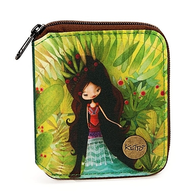 Ketto Small Wallet, Wolf Lady