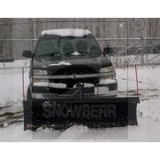 SnowBear® Winter Wolf Snow Plow