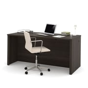 "Bestar Embassy 66"" Executive Desk, Dark Chocolate (60400-79)"