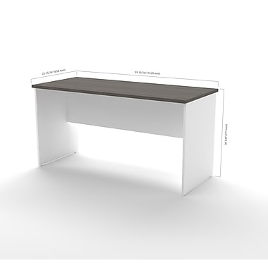 White Executive Desk