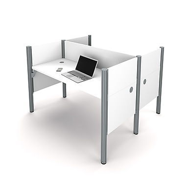 Bestar Pro-Biz Double Face To Face Workstation, White (100870C-17)