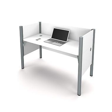 Bestar Pro-Biz Simple Workstation, White (100871C-17)