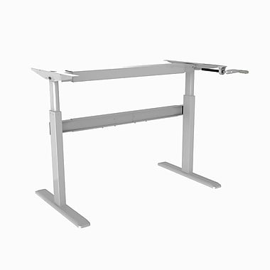 TygerClaw Cranked Sit-Stand Desk Frame (TYDS14012)