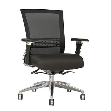 TygerClaw Mesh Mid Back, Fabric Seat Chair (TYFC2323)