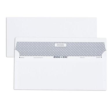 Quality Park Reveal-N-Seal® Envelopes, White #10, 4-1/8