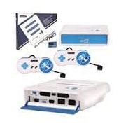 Retro Bit System GSS/NES/SNS, White/Blue