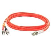 AddOn® 6.6' OM1 Multi-Mode Fiber Duplex ST to LC Male/Male Patch Cable, Orange