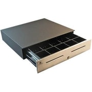 APG Cash Drawer® 4000 1816 Serial 5 Bill/5 Coin Heavy Duty Cash Drawer, Black (JD484A-BL1816-C)
